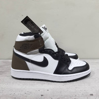 Separu Nike Air jordan 1 High Dark Mocha Premium Quality