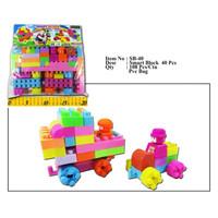 Mainan Anak Smart Block SB 40 - Mainan Edukasi