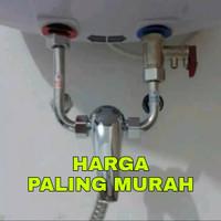 water heater instan/kran mini mixer/kran shower intalasi luar .