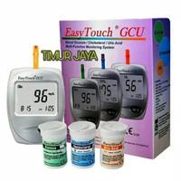 EasyTouch GCU Alat Cek Kadar Kolestrol Asam Urat dan Gula Darah