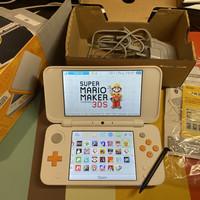 Nintendo 2DS XL USA White 99% Like New Full 128GB 3DS Games CFW Luma