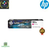 Tinta HP 981A Magenta Original PageWide Cartridge