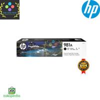 Tinta HP 981A Black Original PageWide Cartridge