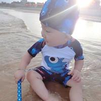 Baju Renang Bayi /Baju Renang Anak Laki Laki /Baby Boy Swimsuit Dino