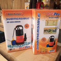Pompa Celup SUBMERSIBLE AIR KOTOR OTOMATIS MULTIPRO SP 200 DWGH