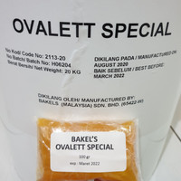 [Repack] BAKEL'S Ovalett / Ovalet Special 100 gram Pengembang Kue