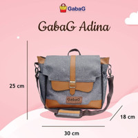 Gabag Backpack Series Adina Cooler Bag Tas Asi Gabag