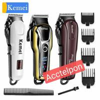 kemei all hair clipper cordless haircut pria km 809a km 1990 km 2600
