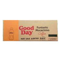 Good day cappucino 250 ml (1 karton 24 botol)