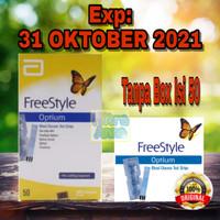 """Freestyle Optium 50/ Strip Gula Freestyle Optium Tanpa Box"""" _Original"""