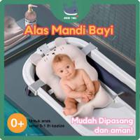 Alas Mandi Bayi Berkualitas - Baby Bath tub - Jaring Bak Baby Anak - peach