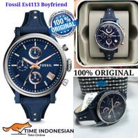 Jam Tangan Wanita Merk Fossil Original Es4113 Boyfriend
