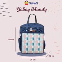GABAG Backpack Series Mandy Tas Asi Cooler Bag Gabag