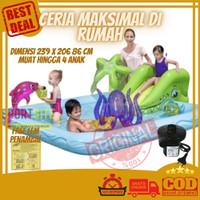 Bestway Fantastic Aquarium Play Pool Kolam Renang Perosotan Anak