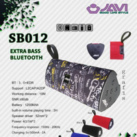 Original Speaker bluetooth javi SB02 superbass
