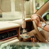Parfum/Pengharum Mobil Aromatherapy Arum - Starter Pack Kayu Gantung - Green Apple