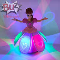 Dancing Angel Girl Mainan Boneka Singing Princess Frozen