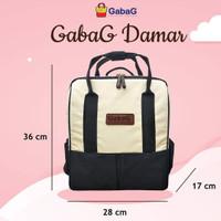 Gabag Backpack Series Damar Tas Asi Cooler Bag Gabag