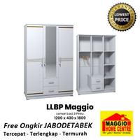 Lemari Pakaian Minimalis 2 Pintu - LLBP Maggio