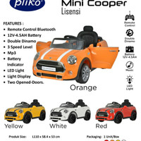 Mobil aki anak Pliko Mini Cooper PK 3868