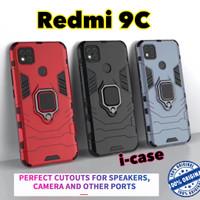 Redmi 9C Case iron Armor iRing - casing cover Xiaomi Redmi 9 c