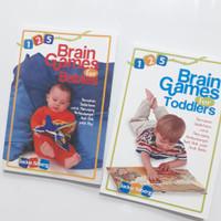 Paket Buku 125 Brain Games for Babies Toddlers Mencerdaskan Otak Anak