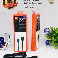 Kabel Data Xiaomi Original 100% Micro Fast Charger 120 CM - Hitam