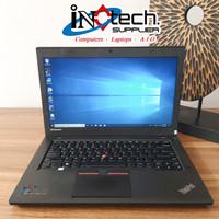 Laptop Lenovo ThinkPad T450 - Intel Core i5 Gen 5 - Second Berkualitas - 8GB-HDD 500GB