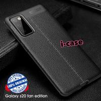 Case Samsung S20 FE casing soft motif leather S20 Fan Edition S20fe
