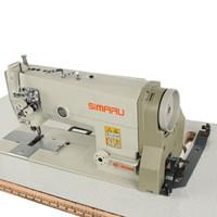 Mesin Jahit SIMARU SM 842-5 Jarum Dua Double Needle Industri Highspeed