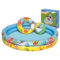 Kolam Anak Bestway 51124 Set Play Pool Kolam Renang Karakter