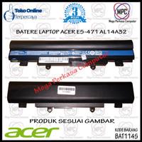 Batere Baterai Laptop Acer Aspire E14 E15 E4 E5 E5-411 E5-471 E45 AL14