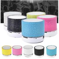 Speaker Mini LED Speaker Portable Wireless Bluetooth USB Music Sound P