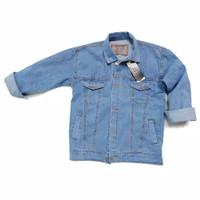 jaket jeans jins levis anak laki laki perempuan 4 5 6 7 8 9 10 11 12 t
