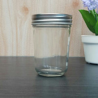 Toples Jar Kaca Mason Jar 240ml
