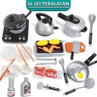 Mainan Anak Masak Masakan Home Kitchen Pretend Play Set Simulasi H336A