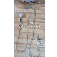 Aksesoris Water Heater Instalasi Instan/ Tanpa bobok Paket 5