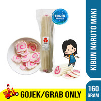 KIBUN NARUTOMAKI 160 GRAM | FISH CAKE NARUTO