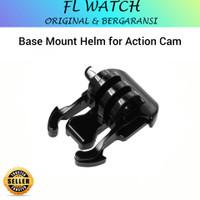 Base mount helm action cam dudukan gopro adapter baut srew