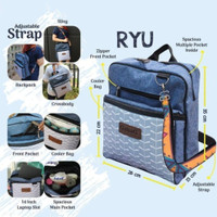 Gabag Backpack Cooler Bag Tas Asi Series Ryu