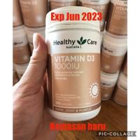 Healthy Care Vitamin D3 1000IU 250 softgel Capsules