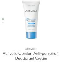 activelle comfort anti-perspirant deodorant cream