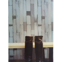 WALLPAPER DINDING 45CMX10METER WALLPAPER DINDING KAYU BARU MIX 61098
