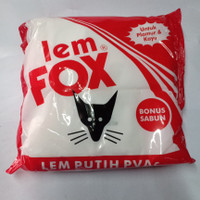 lem fox putih 800 gram Bonus