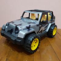 Mainan Mobil Army Jeep - Mainan Mobil Jeep Army