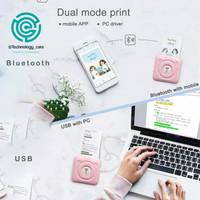 Paripage A6 bluetooth mini thermal photo printer Mini printer thermal