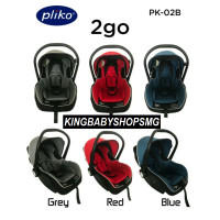 Pliko PK02B Deluxe Baby Car Seat with Canopy