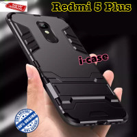 Xiaomi Redmi 5 Plus Case iron armor Stand casing cover redmi5 Plus