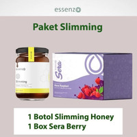 Paket Diet 1   Slimming Honey & Sera Berri   Diet & Pelangsing Essenzo