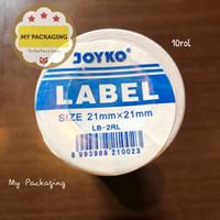 Label Rol 1 Line (10Rol) JOYKO 1 Baris untuk mesin harga MX-5500M